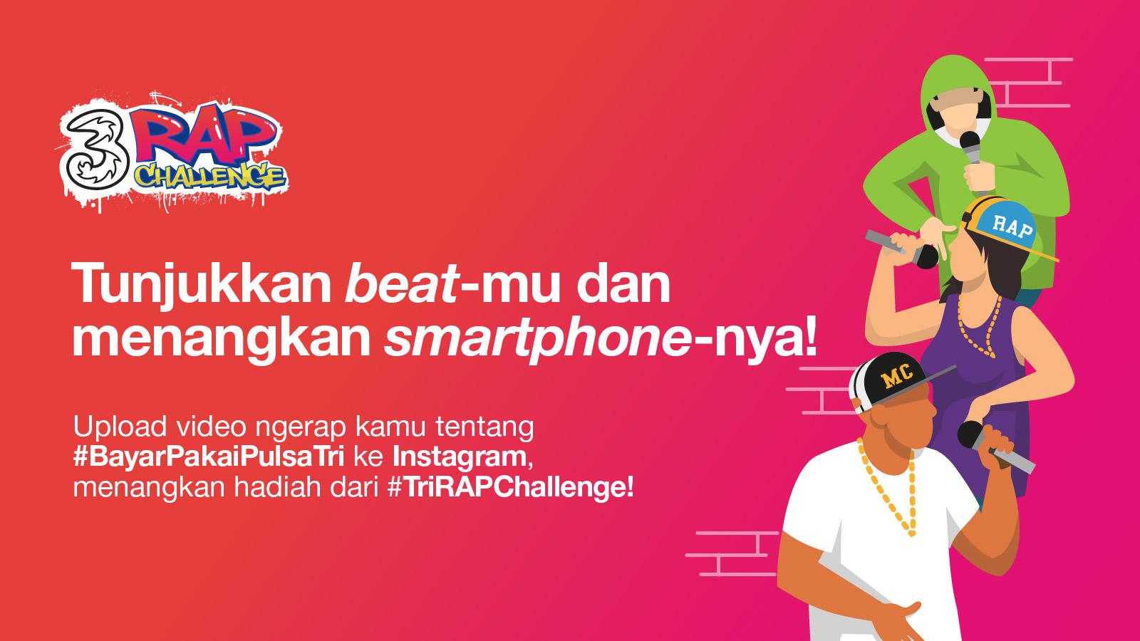 Tri Rap Challenge Tri Indonesia