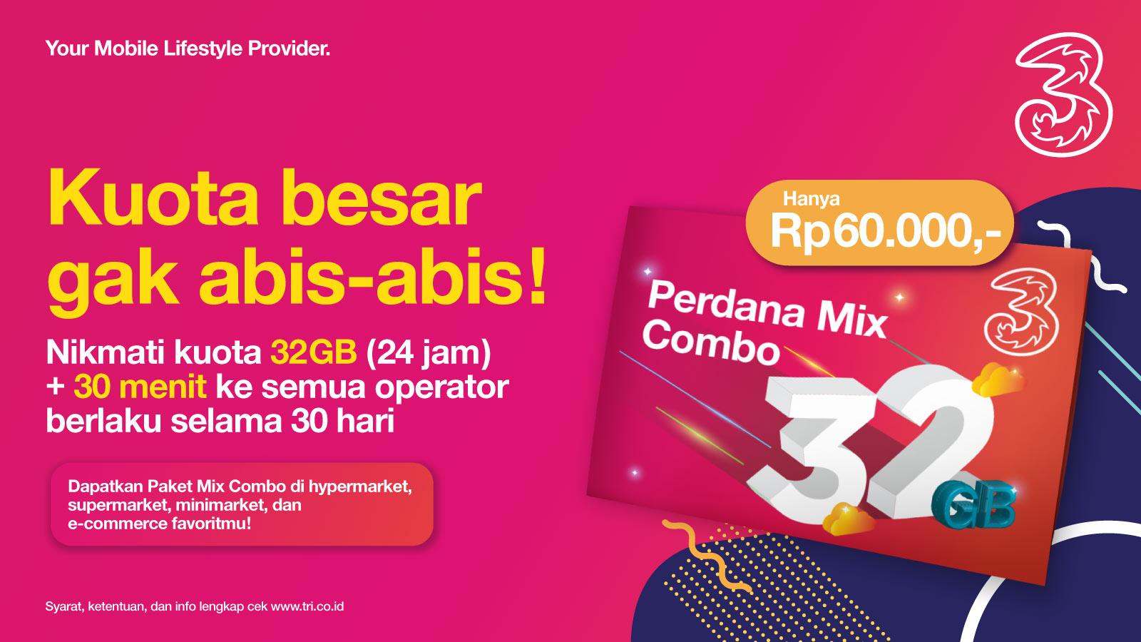 Paket Mix Tri Tri Indonesia